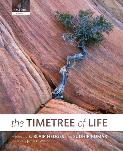 The Timetree of Life Book Cover